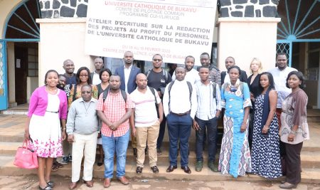 Capacity Building: UCB staff participate in a two-day workshop on Project Proposals writing